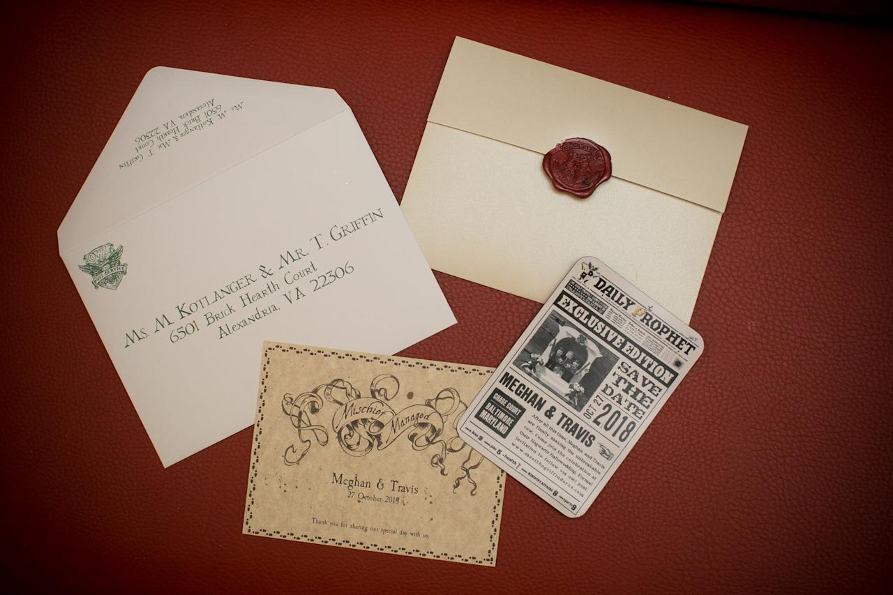 These Harry Potter Wedding