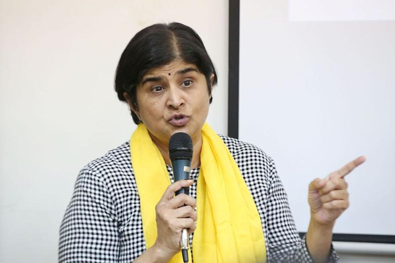 Datuk Ambiga Sreenevasan is one of the committee members of the Institutional Reforms Committee comprising legal experts as well as retired judges. — Picture by Azinuddin Ghazali