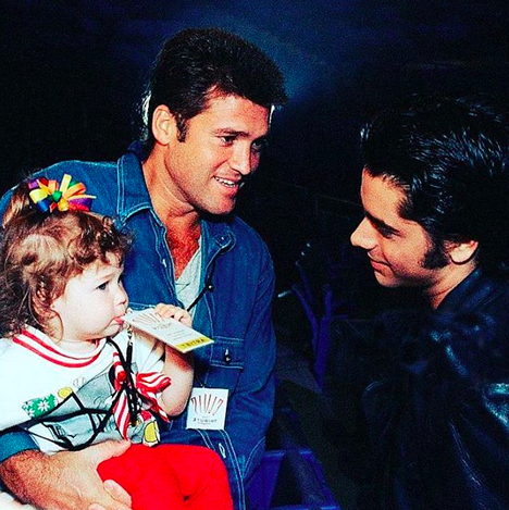 "<p>The<em> Fuller House</em> star shared this awesome throwback of Billy Ray Cyrus holding a familiar-looking little girl. ""That one time I met @MileyCyrus,"" he wrote. (Photo: <a href=""https://www.instagram.com/p/BZfWMXoHgei/?taken-by=johnstamos"" rel=""nofollow noopener"" target=""_blank"" data-ylk=""slk:John Stamos via Instagram"" class=""link rapid-noclick-resp"">John Stamos via Instagram</a>) </p>"