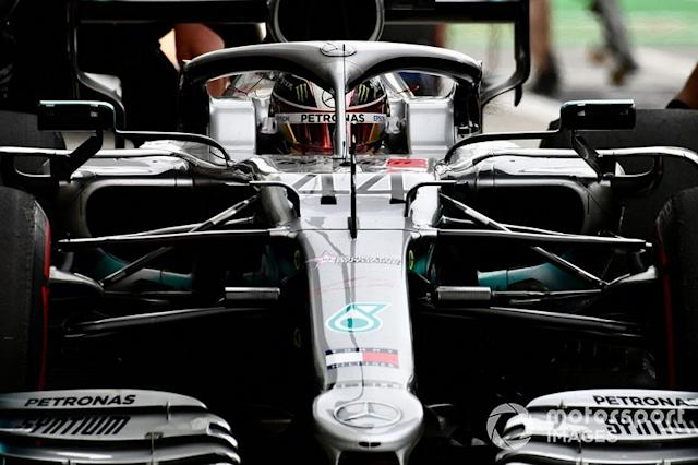 "Lewis Hamilton, Mercedes AMG F1 W10 <span class=""copyright"">Jerry Andre / Sutton Images</span>"