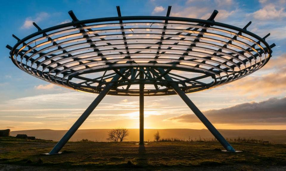Halo: A Panopticon in Haslingden, Rossendale, by John Kennedy, near Ramsbottom, Greater Manchester, UK.