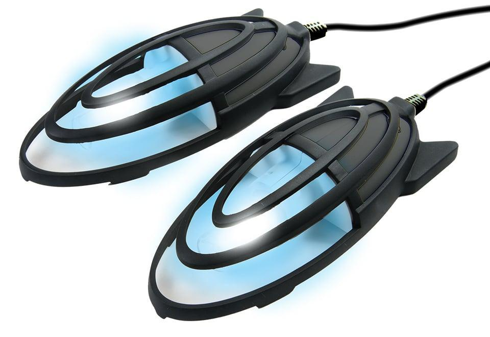 <p>Yes, this genius <span>Sharper Image 15-Minute UV Shoe Sanitizers</span> ($100) cleans your shoes.</p>