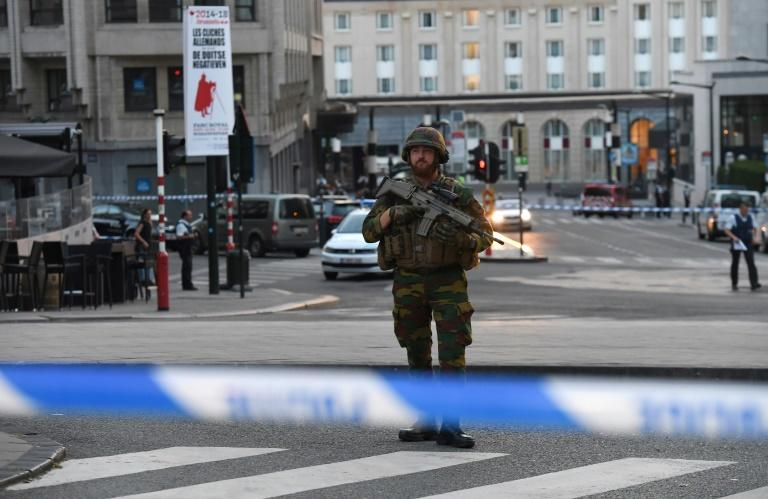 Belgian authorities have identified the terror suspect and said he came from the largely immigrant Brussels neighbourhood of Molenbeek