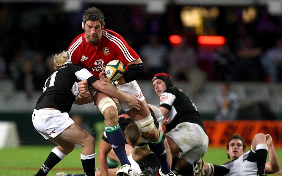 Simon Shaw had impressed during the warm-up games - PA