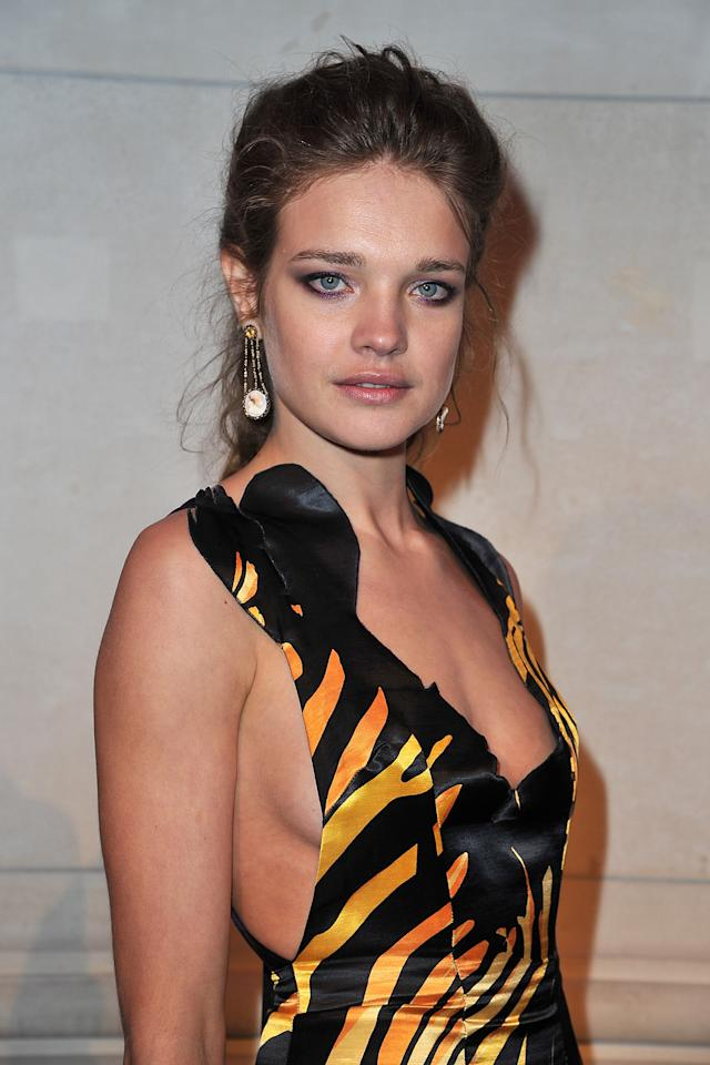 PARIS, FRANCE - MARCH 07:  Natalia Vodinova attends the 'Louis Vuitton - Marc Jacobs: The Exhibition' photocall as part of Paris Fashion Week at the Musee des Arts Decoratifs on March 7, 2012 in Paris, France.  (Photo by Pascal Le Segretain/Getty Images)