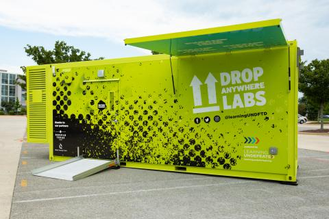 Learning Undefeated Unveils Two Drop Anywhere Labs™ for Texas Schools Slammed by Hurricane Harvey