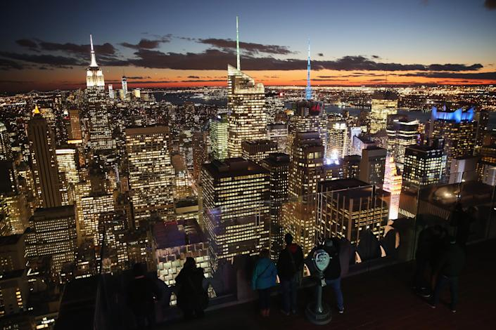 top of the rock observatory new york city