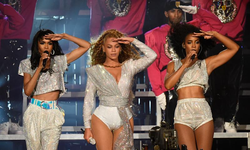 Michelle Williams, Beyoncé, and Kelly Rowland