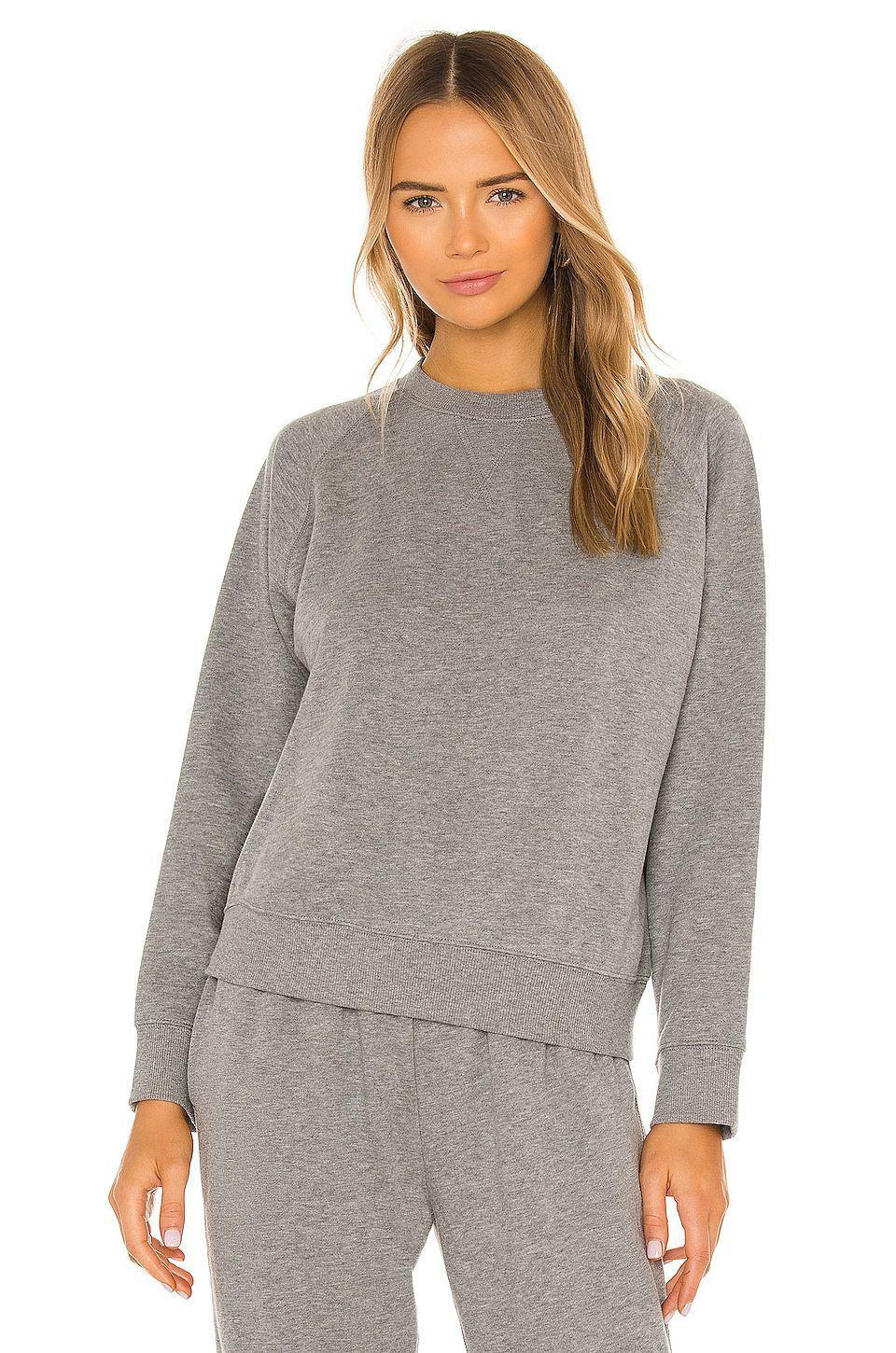 """<p><strong>Richer Poorer</strong></p><p>revolve.com</p><p><strong>$72.00</strong></p><p><a href=""""https://go.redirectingat.com?id=74968X1596630&url=https%3A%2F%2Fwww.revolve.com%2Fdp%2FRRER-WK10%2F&sref=https%3A%2F%2Fwww.goodhousekeeping.com%2Fclothing%2Fg35044369%2Fbest-matching-sweatsuits-women%2F"""" rel=""""nofollow noopener"""" target=""""_blank"""" data-ylk=""""slk:Shop Now"""" class=""""link rapid-noclick-resp"""">Shop Now</a></p><p>This fleece set is made from a mix of cotton and recycled polyester. You can also purchase the set in a camel brown color or black, and mix and match tops and bottoms. Reviewers say the <strong>sizing of the crewneck and <a href=""""https://go.redirectingat.com?id=74968X1596630&url=https%3A%2F%2Fwww.revolve.com%2Fricher-poorer-recycled-fleece-pant-in-heather-grey%2Fdp%2FRRER-WP7%2F&sref=https%3A%2F%2Fwww.goodhousekeeping.com%2Fclothing%2Fg35044369%2Fbest-matching-sweatsuits-women%2F"""" rel=""""nofollow noopener"""" target=""""_blank"""" data-ylk=""""slk:matching recycled sweatpants"""" class=""""link rapid-noclick-resp"""">matching recycled sweatpants</a> is a true fit</strong>. <br></p>"""