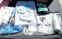 """Face masks and other pandemic essentials are part of this year's Golden Globes """"swag bags"""""""