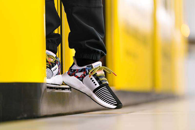 timeless design f366c 7249f Adidas Originals Collaborates With Berlin Transportation ...