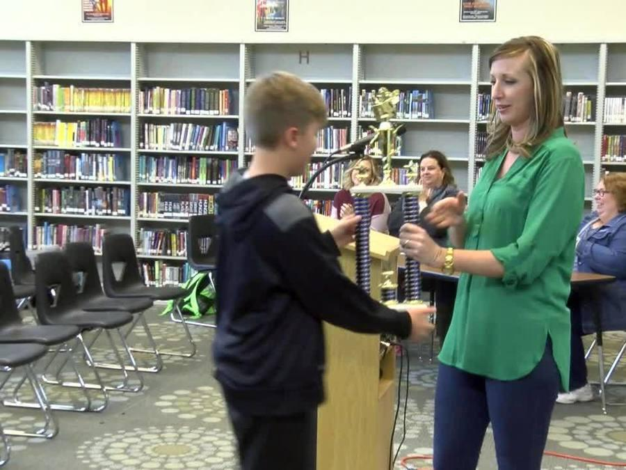 2016 Glenpool Middle School Spelling Bee