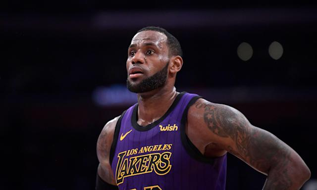 How will the season end for LeBron James? (AP Photo/Mark J. Terrill)