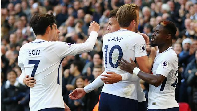 Tottenham's Premier League meeting with Liverpool has set a new attendance record with 80,827 watching on at Wembley.