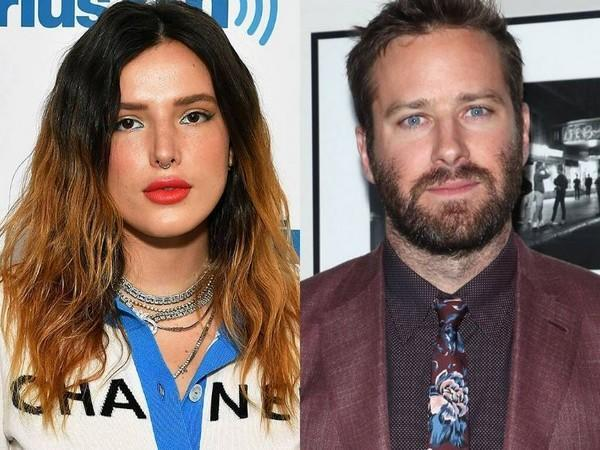 Bella Thorne and Armie Hammer