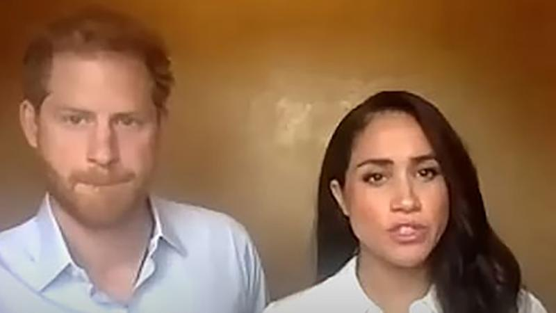 A body language expert says Prince Harry looked