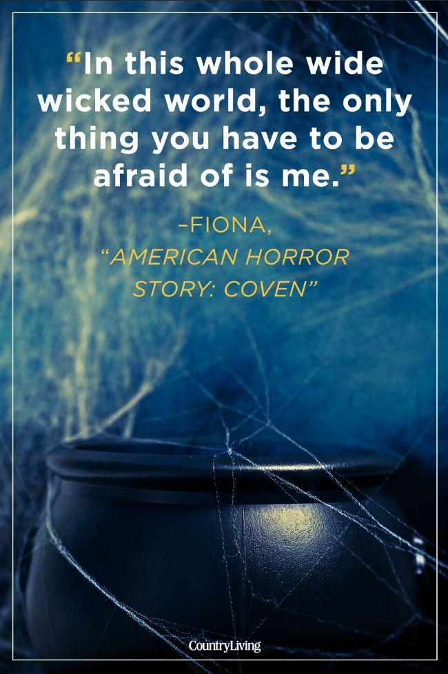 """<p>""""In this whole wide wicked world the only thing you have to be afraid of is me.""""</p>"""