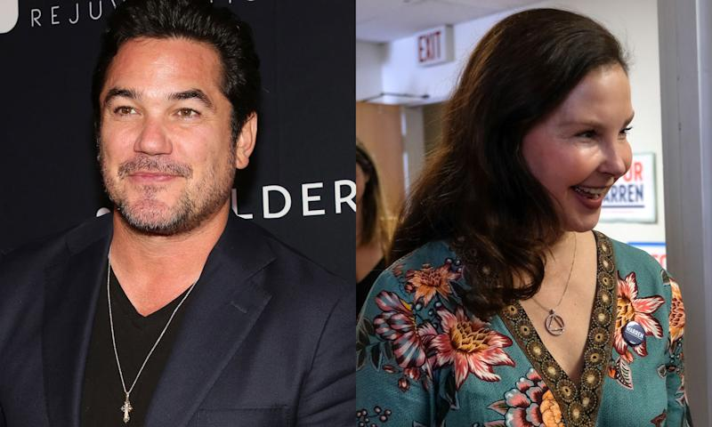 Dean Cain says he wasn't criticizing Ashley Judd's looks on Twitter.