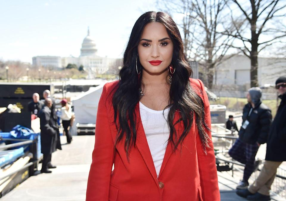 "<p>Demi Lovato has always been open about her substance abuse issues, and weeks after she revealed that she had recently suffered a relapse, the star <a href=""https://www.cosmopolitan.com/entertainment/celebs/a22647097/demi-lovato-statement-overdose/"" rel=""nofollow noopener"" target=""_blank"" data-ylk=""slk:suffered a drug overdose"" class=""link rapid-noclick-resp"">suffered a drug overdose</a>. She was taken to the hospital where she remained stable, but she stayed there for a bit as she recovered.</p>"