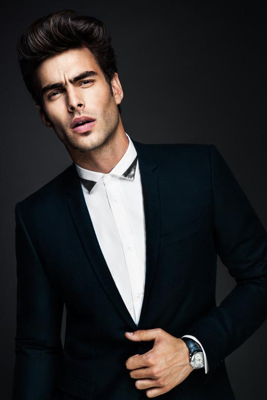 <p>This pretty boy is Tom Ford's favorite muse.</p>
