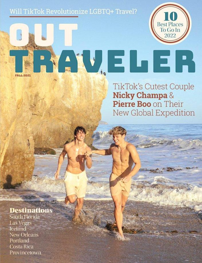 The 25th edition of Out Traveler magazine is our first print issue in ten years.