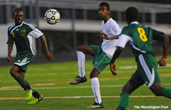 Walter Johnson soccer player Gedion Zelalem