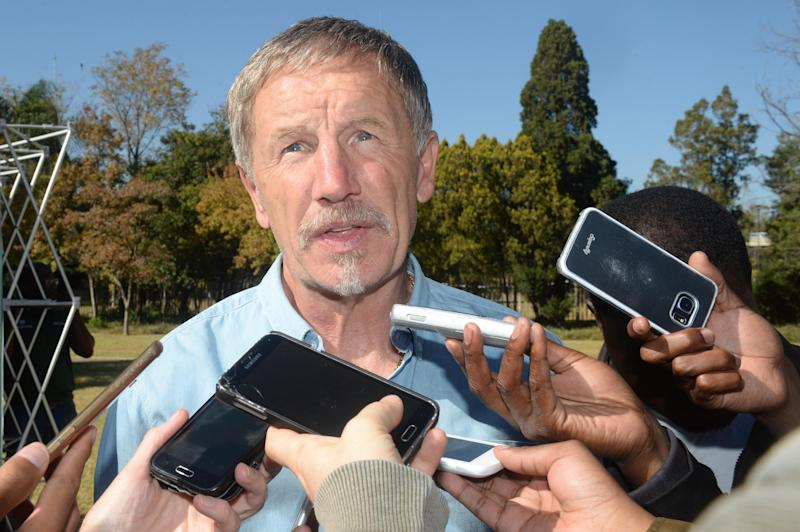 Stuart Baxter, SuperSport United, May 2016.