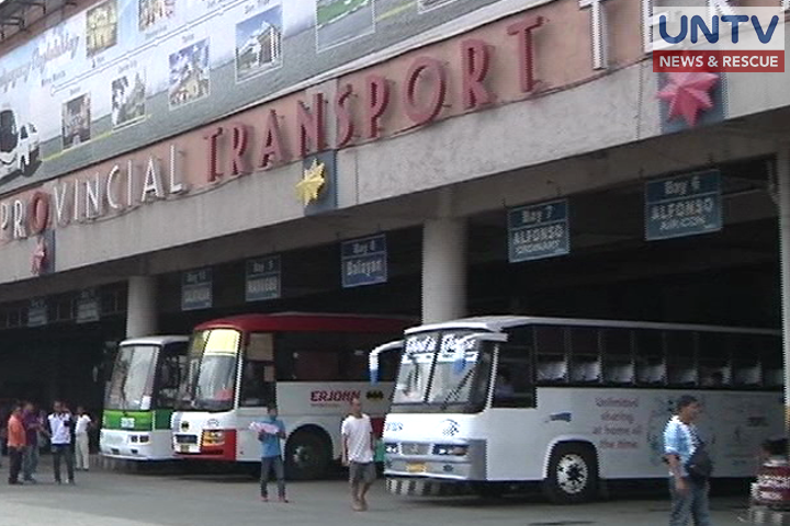 FILE PHOTO: Provincial bus terminal