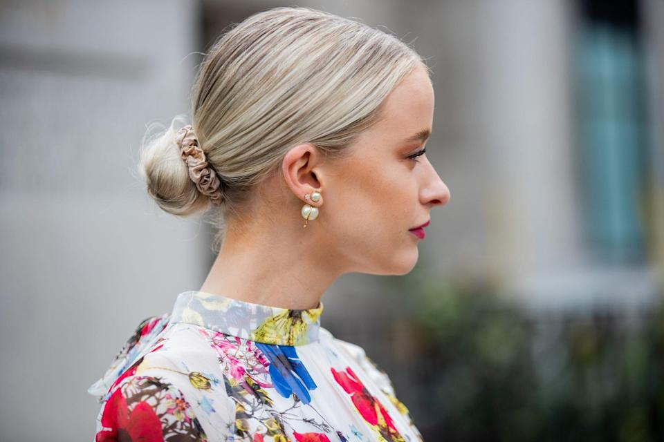 These Supermodel-Approved Scrunchies Keep My Hair Damage-Free