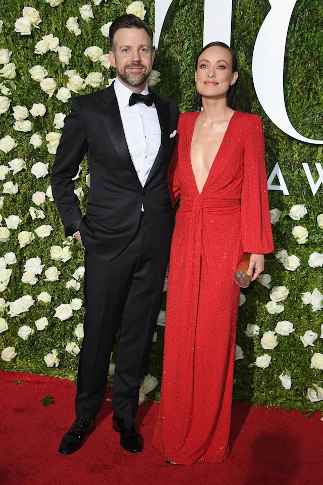 <p>The actress was red-hot on the red carpet. (Photo: Getty Images) </p>