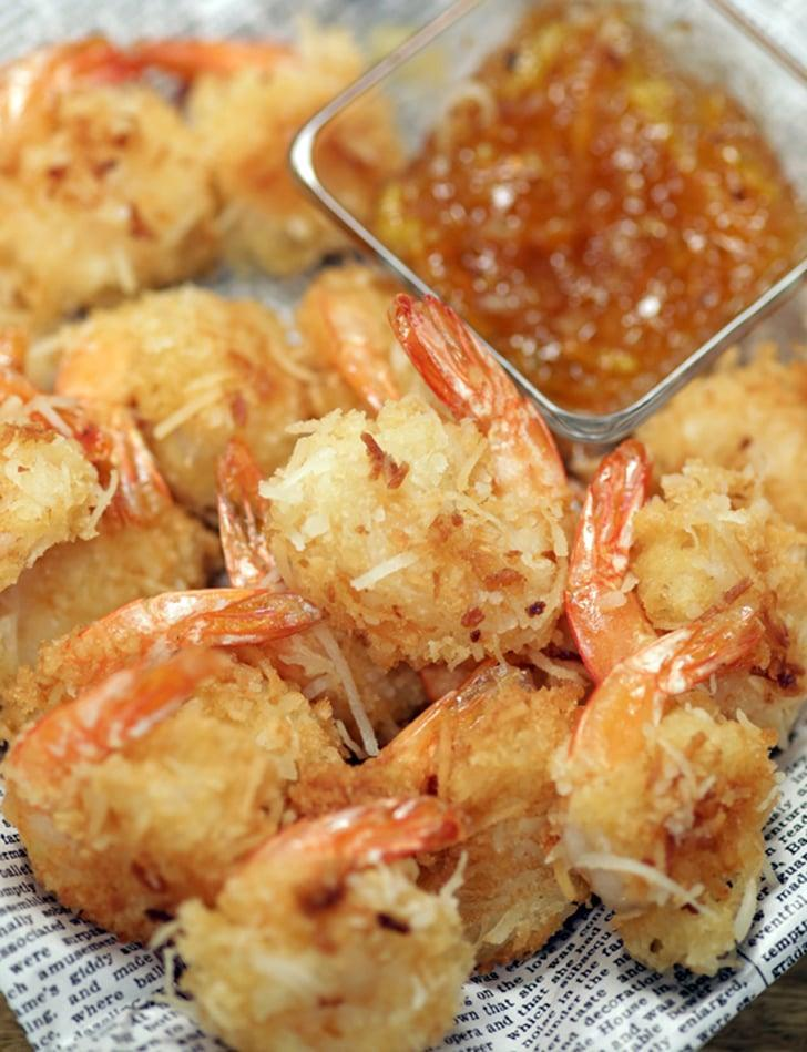 """<p>Sometimes it's fun to make a meal out of an appetizer instead of a main dish, like with this <a href=""""https://www.popsugar.com/food/Bubba-Gump-Coconut-Shrimp-Recipe-35473011"""" class=""""link rapid-noclick-resp"""" rel=""""nofollow noopener"""" target=""""_blank"""" data-ylk=""""slk:crisp-crusted coconut shrimp"""">crisp-crusted coconut shrimp</a>. Just add a simple salad or some roasted vegetables to round it out.</p>"""