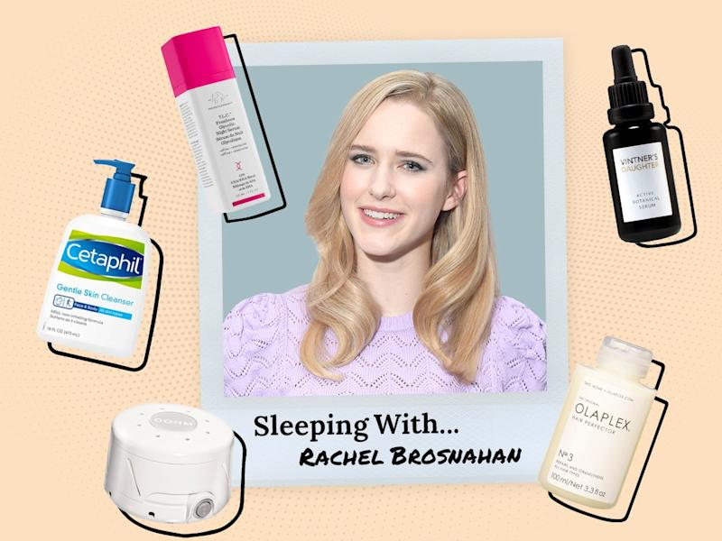 Rachel Brosnahan Sleeps With a Noise Machine and Without Underwear