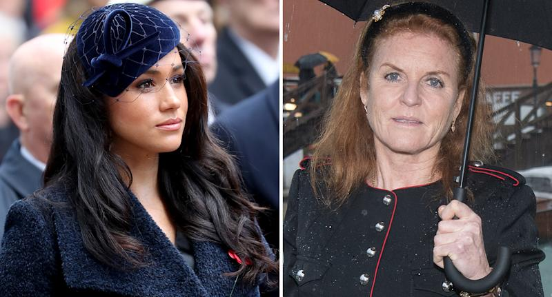 Sarah Ferguson says she can relate to Meghan Markle. [Photo: Getty]
