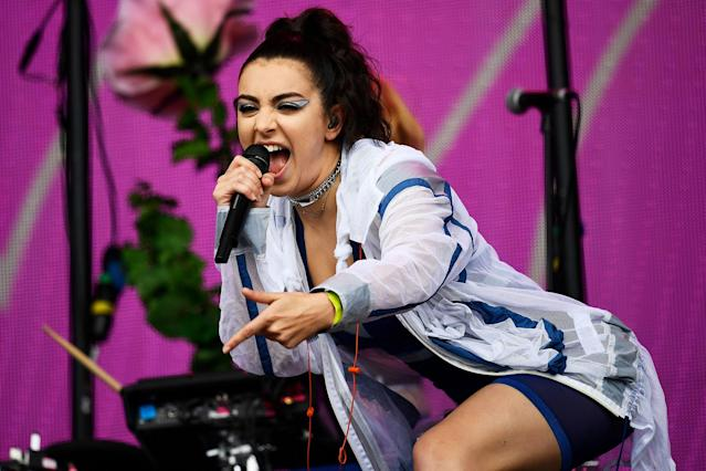 <p>Charli XCX performs on the Other Stage at Worthy Farm in Somerset during the Glastonbury Festival in Britain, June 23, 2017. (Photo: Dylan Martinez/Reuters) </p>