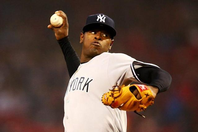 """<a class=""""link rapid-noclick-resp"""" href=""""/mlb/players/9879/"""" data-ylk=""""slk:Luis Severino"""">Luis Severino</a> highlights Tuesday's look around the league (Getty Images)"""