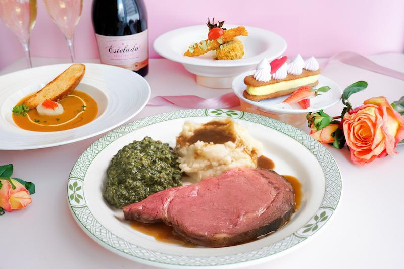 Credit - Lawry's The Prime Rib Singapore's Mother's Day 2021 set menu