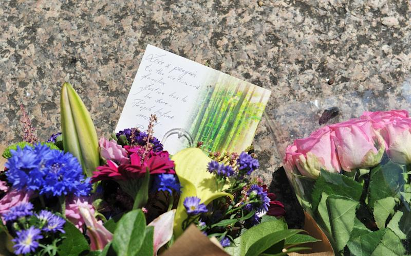 Tributes are left to the victims of the Grenfell Tower blaze (PA Images)