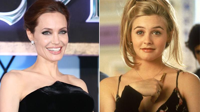Jolie almost snatched the role of Cher from Alicia Silverstone. Photo: Getty Images/Paramount Pictures