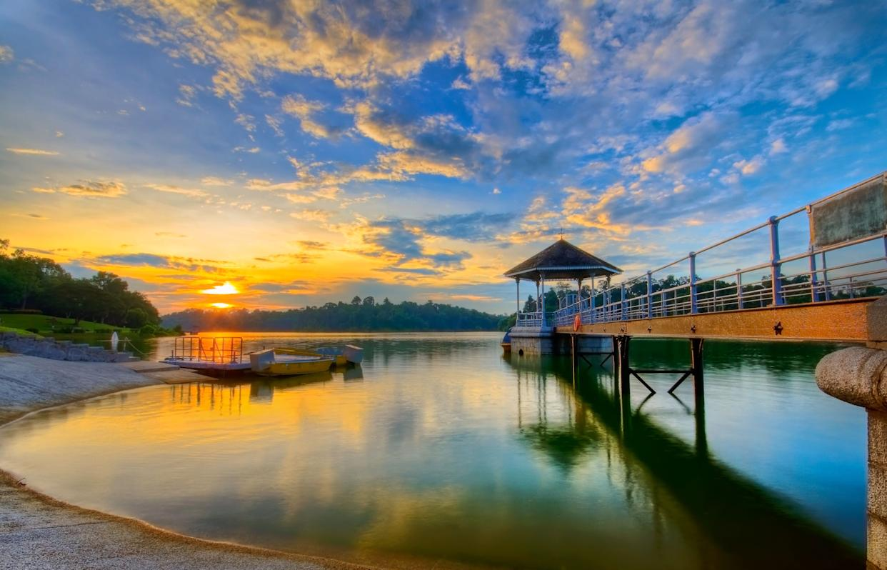 """Nick recalls taking long walks with his father around the <a href=""""https://www.nparks.gov.sg/gardens-parks-and-nature/parks-and-nature-reserves/macritchie-reservoir-park"""" rel=""""nofollow noopener"""" target=""""_blank"""" data-ylk=""""slk:MacRitchie Reservoir"""" class=""""link rapid-noclick-resp"""">MacRitchie Reservoir</a> at dusk while growing up."""
