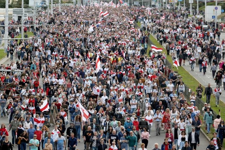 Online apps have proved vital for organising and covering the protests in Belarus