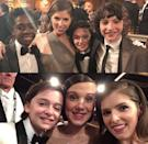 <p>Anna Kendrick gushed about taking a pic with the Stranger Things' cast.</p>