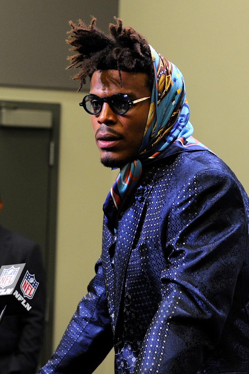 buy popular 0395b 78d63 The Backlash to Cam Newton's Babushka Exposes a Troubling ...