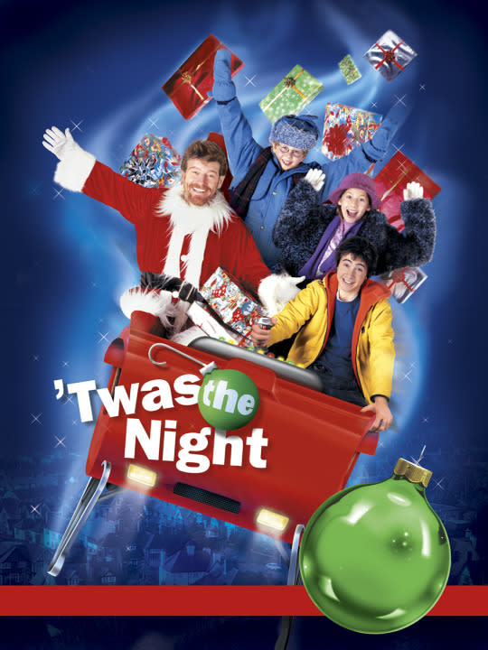 """<p>Heisenberg himself, Bryan Cranston, stars in this upsetting dramedy about a boy and his uncle who steal Santa's """"high-tech"""" sleigh. Come for the first act fun and games, stay for the third act murder-suicide!<br><br><i>(Credit: Disney Channel)</i> </p>"""