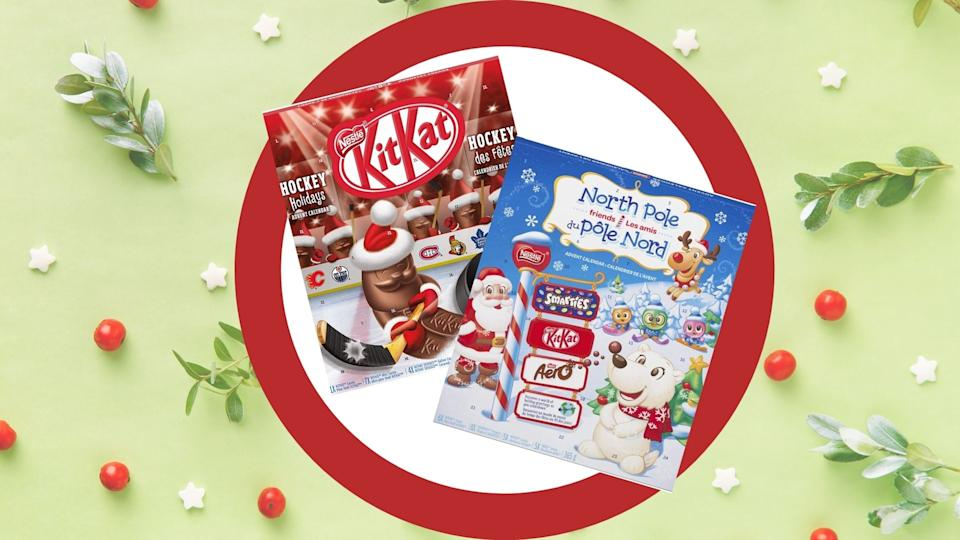 Nestlé Advent calendars are on sale now through Amazon.