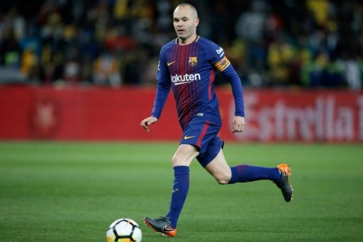 Andres Iniesta will make his final Barcelona appearance on Saturday
