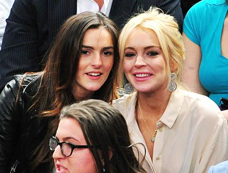"Lindsay Lohan's Little Sister Ali: ""I Don't Need to Ride on Any Coattails"""