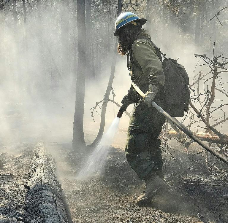 The Bootleg Fire is burning through the equivalent of 130,000 soccer fields