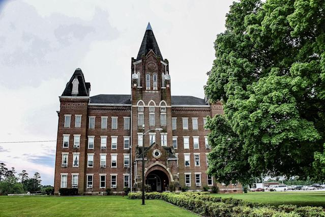 <p>An exterior view of Western State Mental Hospital. (Caters News) </p>