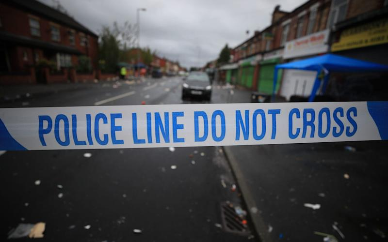 A 12-year-old boy has been arrested on suspicion of a homophobic assault - PA