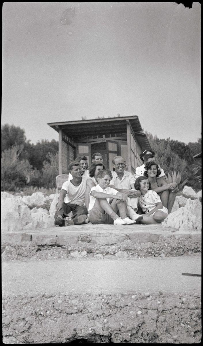 Photo credit: © John F. Kennedy Library Foundation from Hotel du Cap-Eden-Roc: A Timeless Legend on the French Riviera, Flammarion, 2021